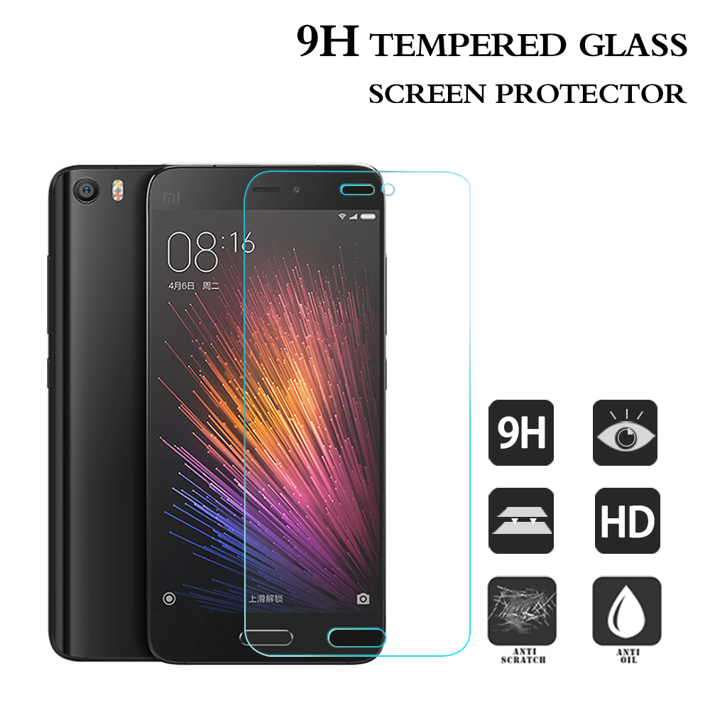For Xiaomi Mi5 Crystal Screen Protector clear 9H 0.3mm Smart phone screen protectors