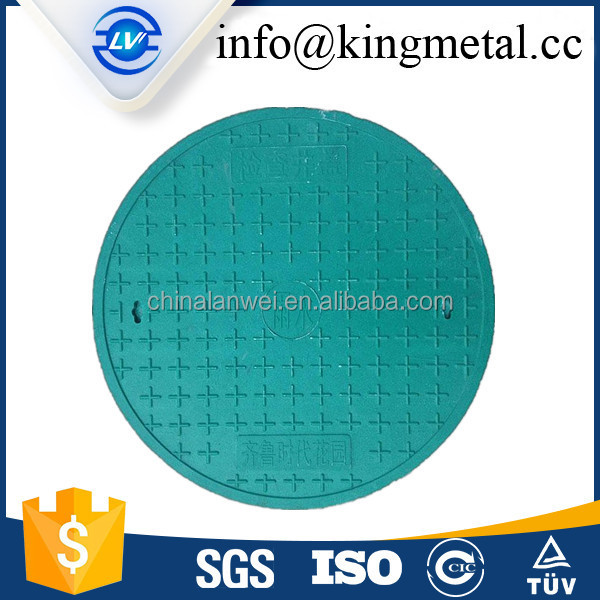 Latest product pvc manhole cover composite with hinged lock