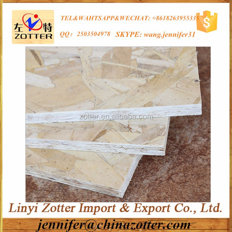 Cheap 9mm 18mm wooden panel OSB prices
