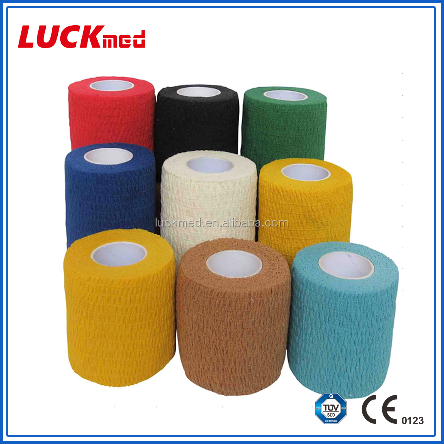 100% Cotton Self Adhesive Elastic Bandage