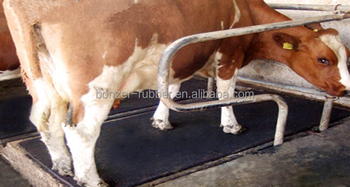 anti-slip dairy cow rubber mat for sleeping