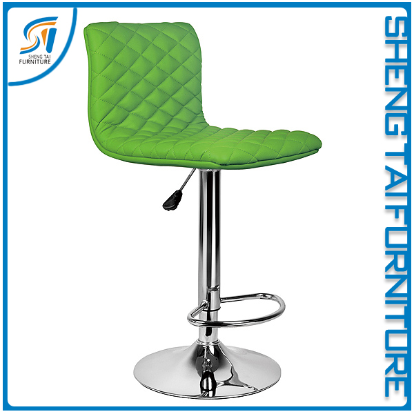 Factory direct sale industrial bar stool with chrome steel base