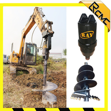 hydraulic auger drill motor for construction & agriculture machinery