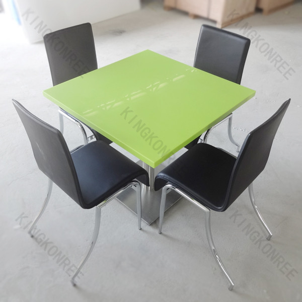 Special design customized solid surface kids mushroom table and chairs