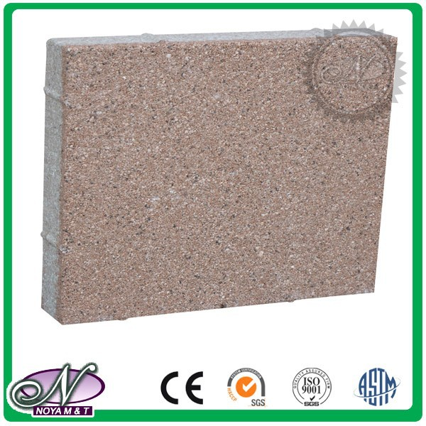 Cheap easy to re-install water permeable paving bricks
