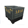 industrial Used Collapsible Bins storage pallet bin