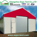 Outdoor steel warehouse storage tent