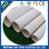 lightweight PVC pipe used for building drainage
