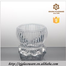 wedding table centerpieces votive crackle glass candle holders, tea light holder wholesale