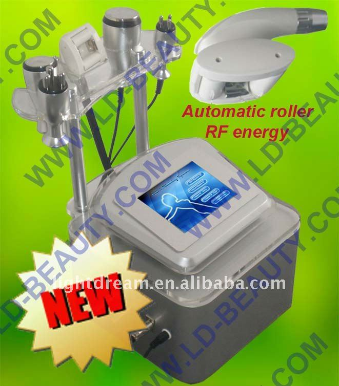 Vacuum Cavitation ICE RF System With Motor Roller SVM+