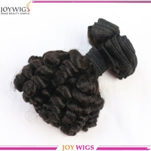 Malaysian popular hair weft fashion curly cheap full lace wig wholesale human hair