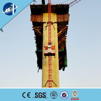 Good sale SC200/200 construction passenger hoist in India