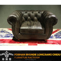 Antique sofa with button sofa back designs leather sofa A163