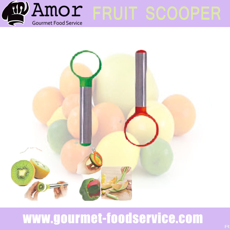 Innovative fruit pitter scooping tool with 2 set
