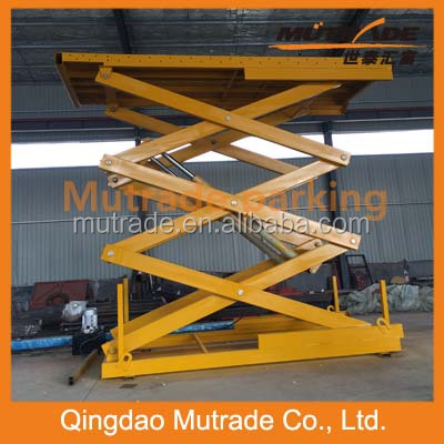 four wheeler lift for car service center