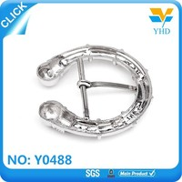 alloy gun color fashion metal buckle for belt