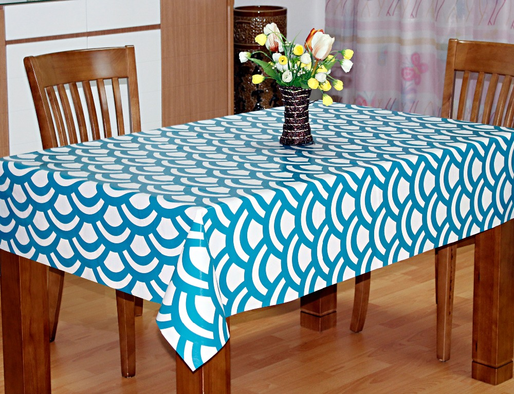 clean-cut waterproof PVC tablecloths
