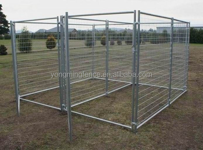 Farm and Ranch Equipment 6 ft. x 9.5 ft. x 9.5 ft. Heavy-Duty Dog Kennel