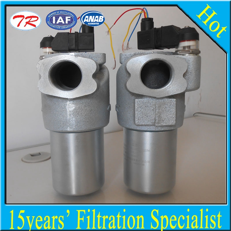 42 Mpa Stainless steel hydraulic filter PHA110 hydraulic line filter