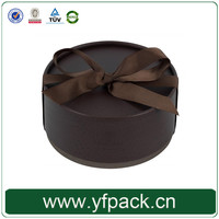 China Supplier Round Custom Luxury Paper Chocolate Gift Boxes Packaging