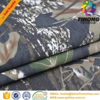100% Cotton Fire Retardant Camouflage Fabric For Military Clothing