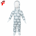 Skin Friendly Full Cotton Winter Rompers For Girls