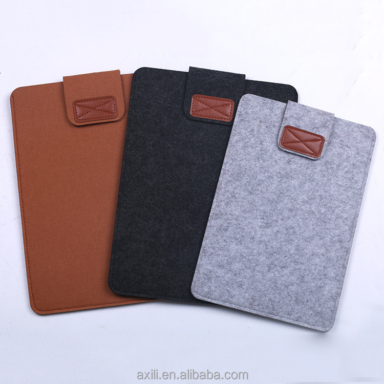 9-10 Inch Sleeve Bag Protective Felt Case Cover for iPad 1 / 2 / 3 / 4 Air / Air 2, All-New Pad 9.7 2017 Pad Pro