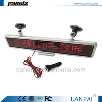 Shenzhen factory top quality car display led sign