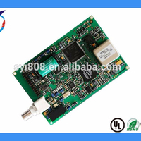 Design sound controlled board pcba for home entertainment system