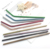 New Colorful 304 Stainless Steel Reusable Drinking Straw Set