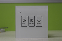 Newest product zigbee 24Gghz phone wifi controlled wall light switch 220v