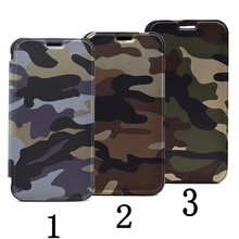 pop camouflage folding phone holster case for Samsung Galaxy S7 Edge