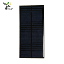 High quality 2w 6v Epoxy Solar Panels Mini Solar Cells Polycrystalline Silicon Solar DIY Solar Module