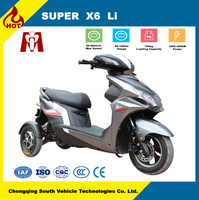 Super X6,Cheap prices from china electrical bike dual motor electric tricycle for sale