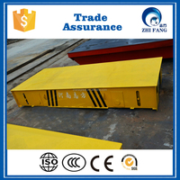 Overseas Service Rail Vehicle / Transfer cart Powered Battery/Electric