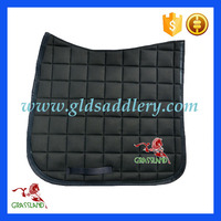 High grade gong silk brocade horse riding saddle pad dressage
