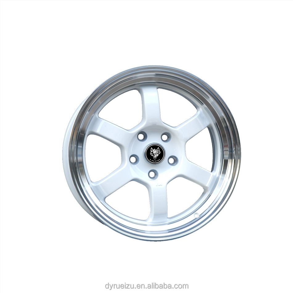 alloy wheel TE37 15*7/16*7 /17*7.5 4*100/4*408/4*114.3/5*100/5*114.3
