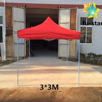 PN China direct factory strongest 3*3m Aluminum folding tent windproof waterproof portable outdoor gazebo