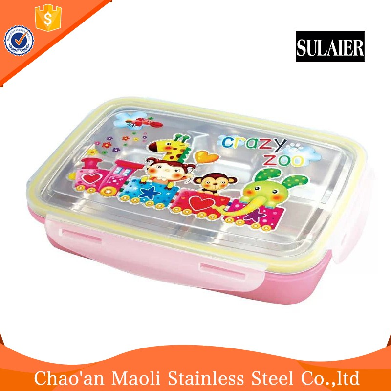 Pollution Free Kitchen Two-Layers Hot Sale Stainless Steel Lunch Tiffin Box