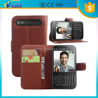 Hot selling PU leather phone case for blackberry classic ,phone case for blackberry classic