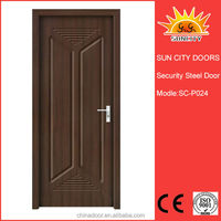 Best price luxury hotel wooden doors from China factory