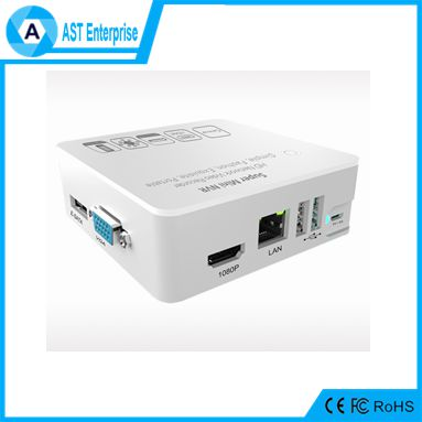ONVIF RTSP 8CH 1080P/960P/720P Super MINI NVR with VGA/HDMI/USB and RJ45, 3G,WIFI Connection