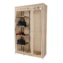 Home Storage Folding Portable Clothes Closet classic furniture wardrobe