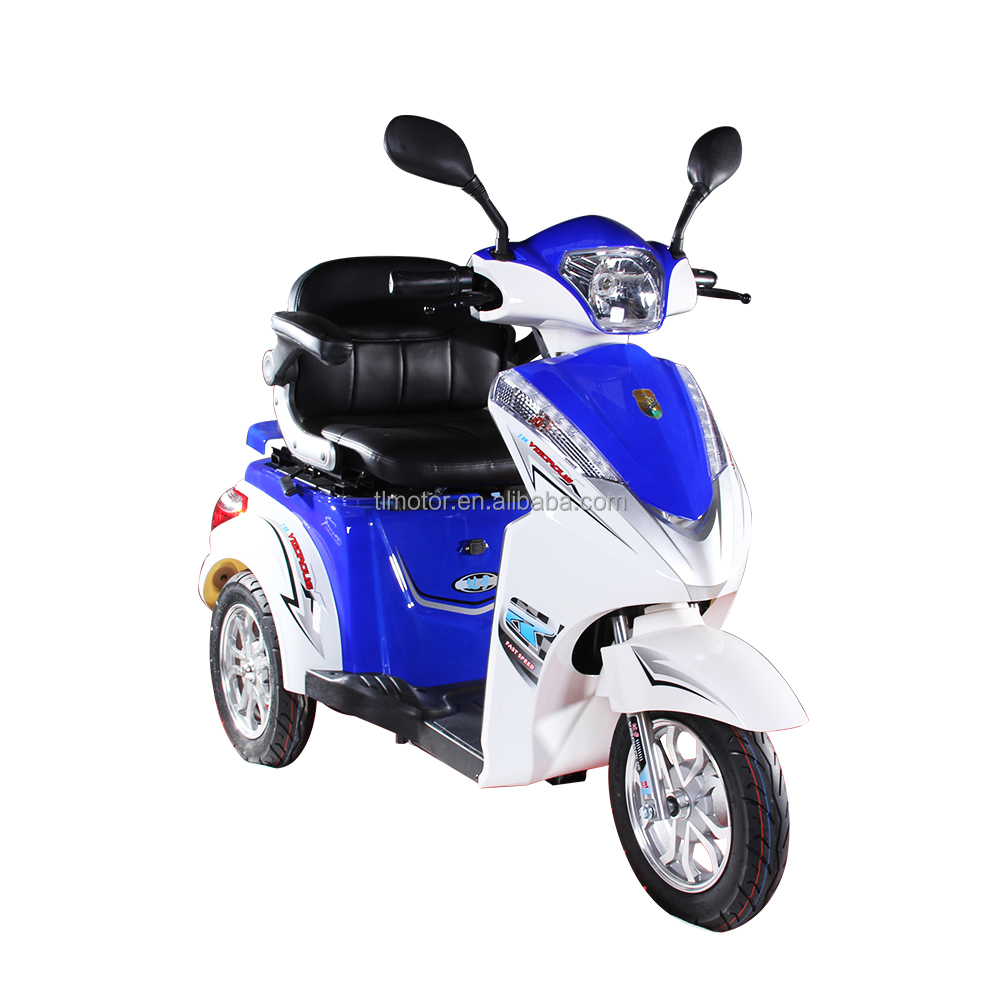 48 V 500 W Three Wheel Electric Vehicles China for Disabled