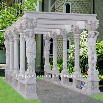 Newly Carved Garden Marble Gazebo