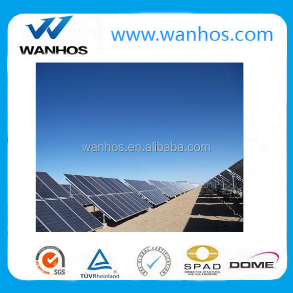 Pv Solar Pile Ground Mounting, Pile Ground Mounting Structure, Solar Panel Pile Ground Mounted