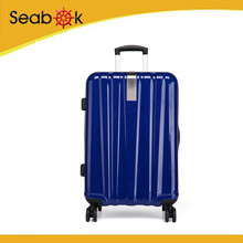 OEM Factory sales Bbrand design polycarbonate PC travel trolley luggage