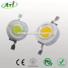 Low price 1w power led 640-680nm red led chip CE & Rohs approval
