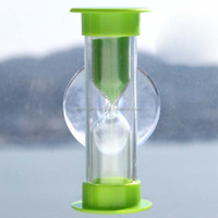 Plastic bathroom shower sand timer hourglass
