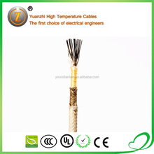 high voltage 500V flat and curved 12mm fire resistant glass wire